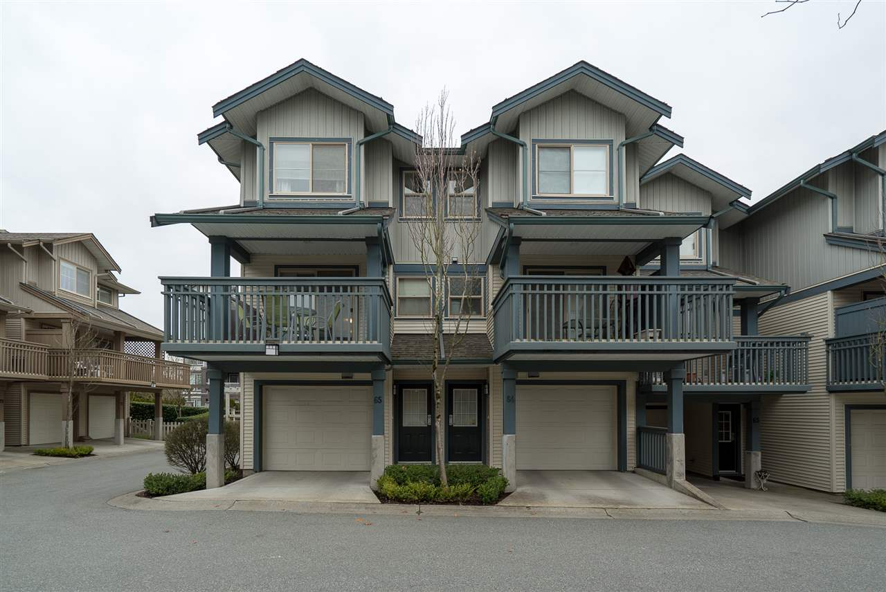 "Main Photo: 65 19250 65 Avenue in Surrey: Clayton Townhouse for sale in ""Sunberry Court"" (Cloverdale)  : MLS® # R2245462"