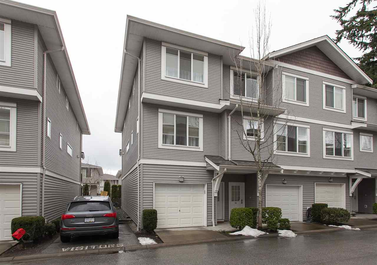 "Main Photo: 84 15155 62A Avenue in Surrey: Sullivan Station Townhouse for sale in ""OAKLANDS"" : MLS®# R2246499"