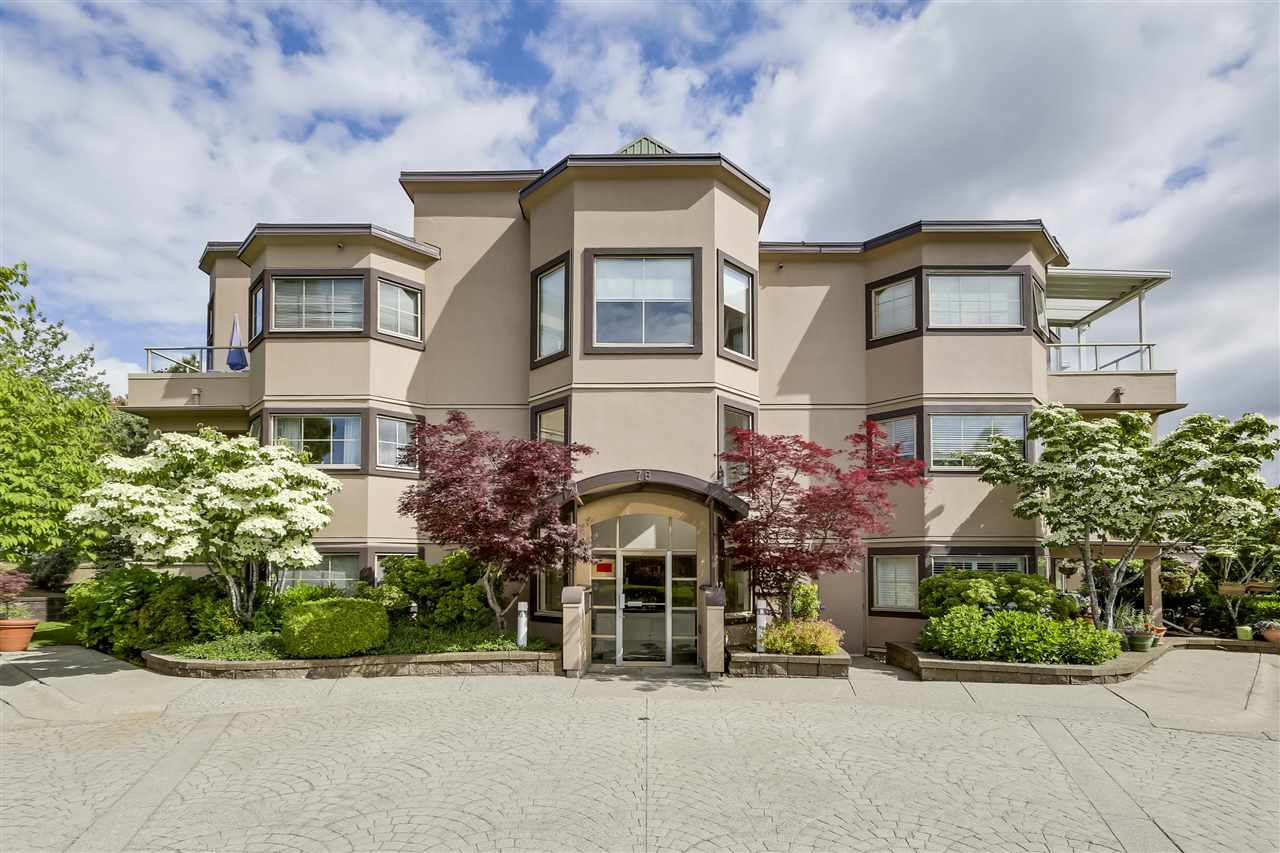 "Main Photo: 403 78 RICHMOND Street in New Westminster: Fraserview NW Condo for sale in ""GOVERNOR'S COURT"" : MLS®# R2274652"