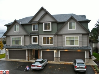 "Main Photo: 2 1609 AGASSIZ-ROSEDALE Highway: Agassiz Townhouse for sale in ""FRASER GREEN"" : MLS®# H1104188"