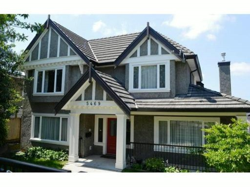 Main Photo: 5469 FLEMING ST in Vancouver: Knight House for sale (Vancouver East)  : MLS®# V1017158