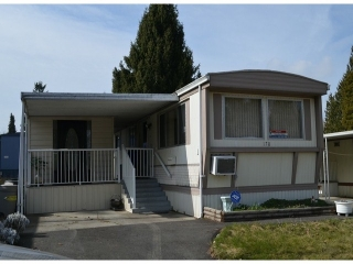 "Main Photo: 170 7790 KING GEORGE Boulevard in Surrey: East Newton Manufactured Home for sale in ""Crispen Bays"" : MLS(r) # F1404653"