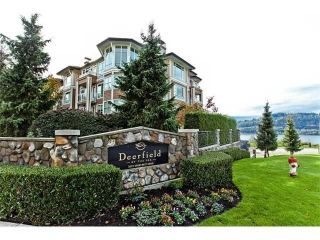 "Main Photo: 420 3629 DEERCREST Drive in North Vancouver: Roche Point Condo for sale in ""DEERCREST"" : MLS®# R2110524"