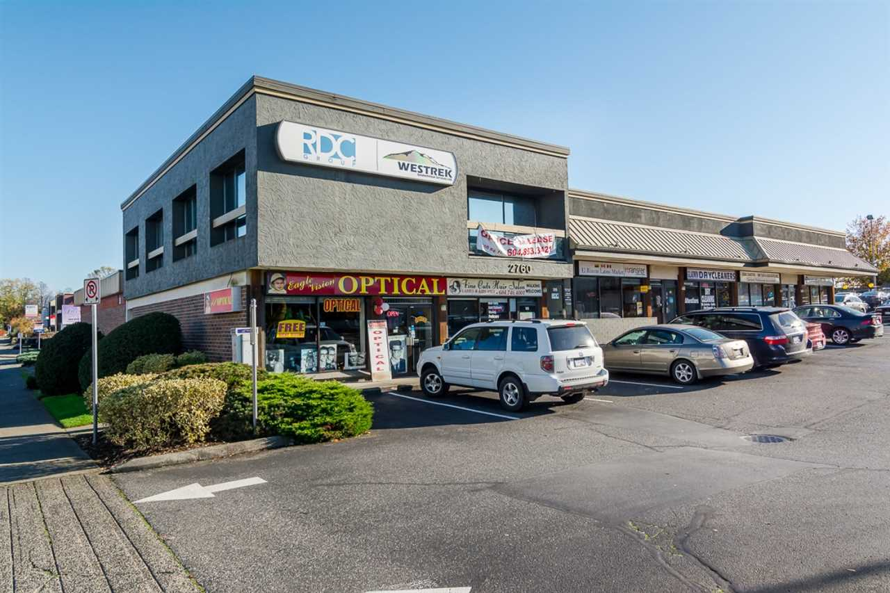 Main Photo: 105 2760 GLADWIN Road in Abbotsford: Abbotsford West Retail for lease : MLS(r) # C8008748