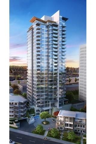 "Main Photo: 2703 520 COMO LAKE Avenue in Coquitlam: Coquitlam West Condo for sale in ""THE CROWN"" : MLS® # R2130751"