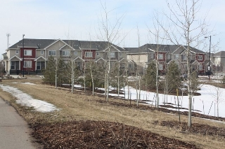 Main Photo: 3 675 ALbany Way in Edmonton: Zone 27 Townhouse for sale : MLS(r) # E4056262