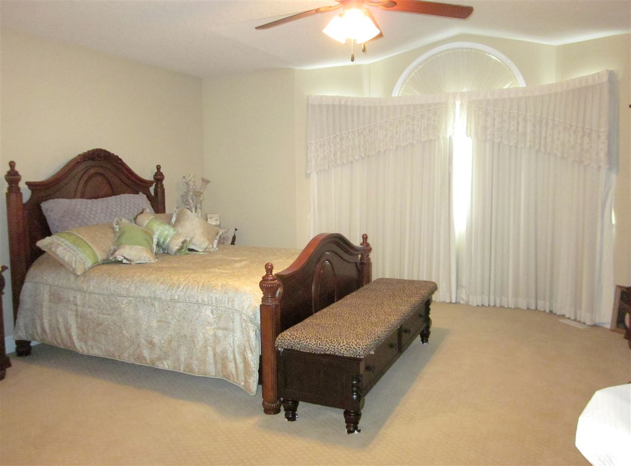 Master bedroom has walk-in closet and 4 pcs. ensuite.