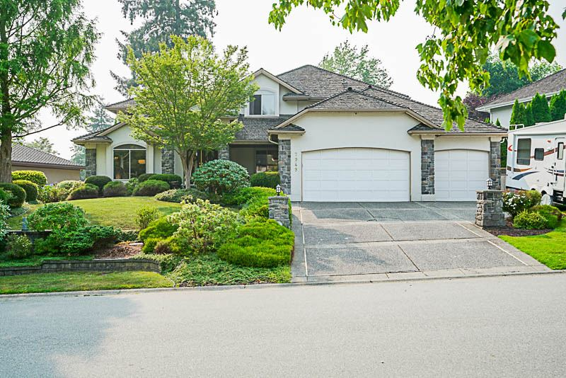 "Main Photo: 7949 145 Street in Surrey: Bear Creek Green Timbers House for sale in ""British Manor"" : MLS® # R2195188"