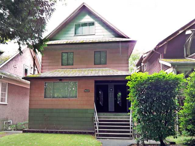 Main Photo: 1437 E 10TH Avenue in Vancouver: Grandview VE House for sale (Vancouver East)  : MLS®# V900493