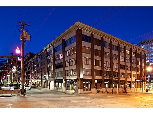 Main Photo: 410 1178 Hamilton in Vancouver: Yaletown Condo for sale (Vancouver West)  : MLS®# V988369