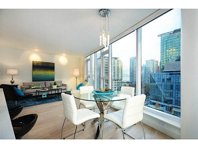 "Photo 3: 1103 1499 W PENDER Street in Vancouver: Coal Harbour Condo for sale in ""WEST PENDER PLACE"" (Vancouver West)  : MLS® # V1054615"