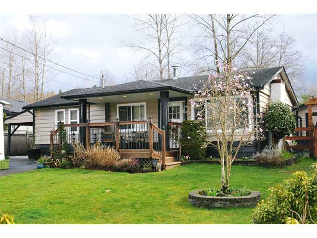 Main Photo: 12082 261ST Street in Maple Ridge: Websters Corners House for sale : MLS® # V1115358