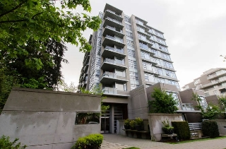 "Main Photo: 1206 9266 UNIVERSITY Crescent in Burnaby: Simon Fraser Univer. Condo for sale in ""Aurora"" (Burnaby North)  : MLS® # R2063838"