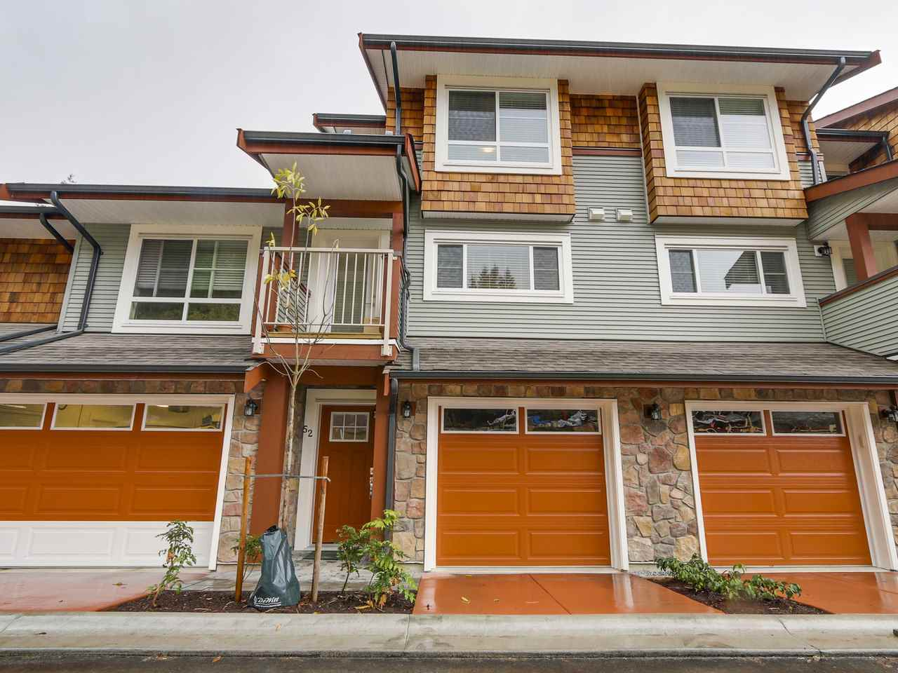 "Main Photo: 52 23651 132 Avenue in Maple Ridge: Silver Valley Townhouse for sale in ""MYRON'S MUSE"" : MLS® # R2130143"