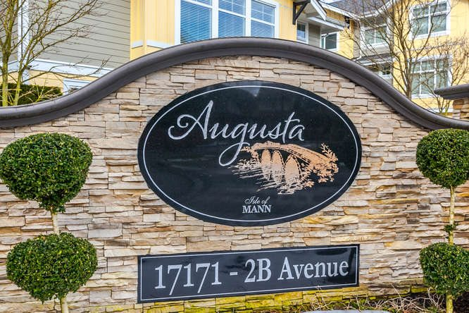 "Main Photo: 11 17171 2B Avenue in Surrey: Pacific Douglas Townhouse for sale in ""Augusta"" (South Surrey White Rock)  : MLS® # R2136788"