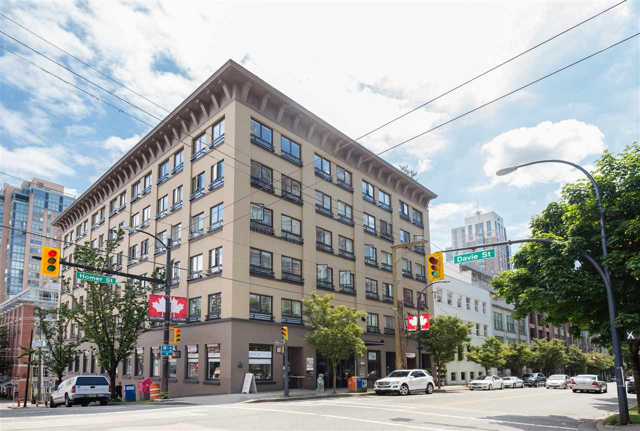 "Main Photo: 304 1216 HOMER Street in Vancouver: Yaletown Condo for sale in ""THE MURCHIES BUILDING"" (Vancouver West)  : MLS(r) # R2176997"