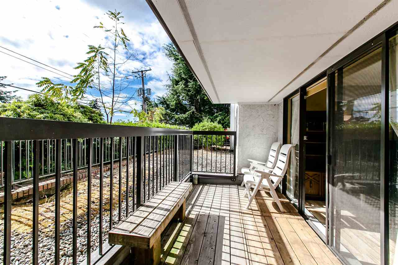 Balcony space-private
