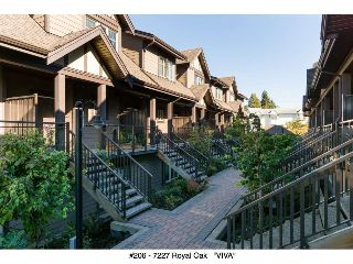 "Main Photo: 206 7227 ROYAL OAK Avenue in Burnaby: Metrotown Townhouse for sale in ""Viva"" (Burnaby South)  : MLS® # R2216874"
