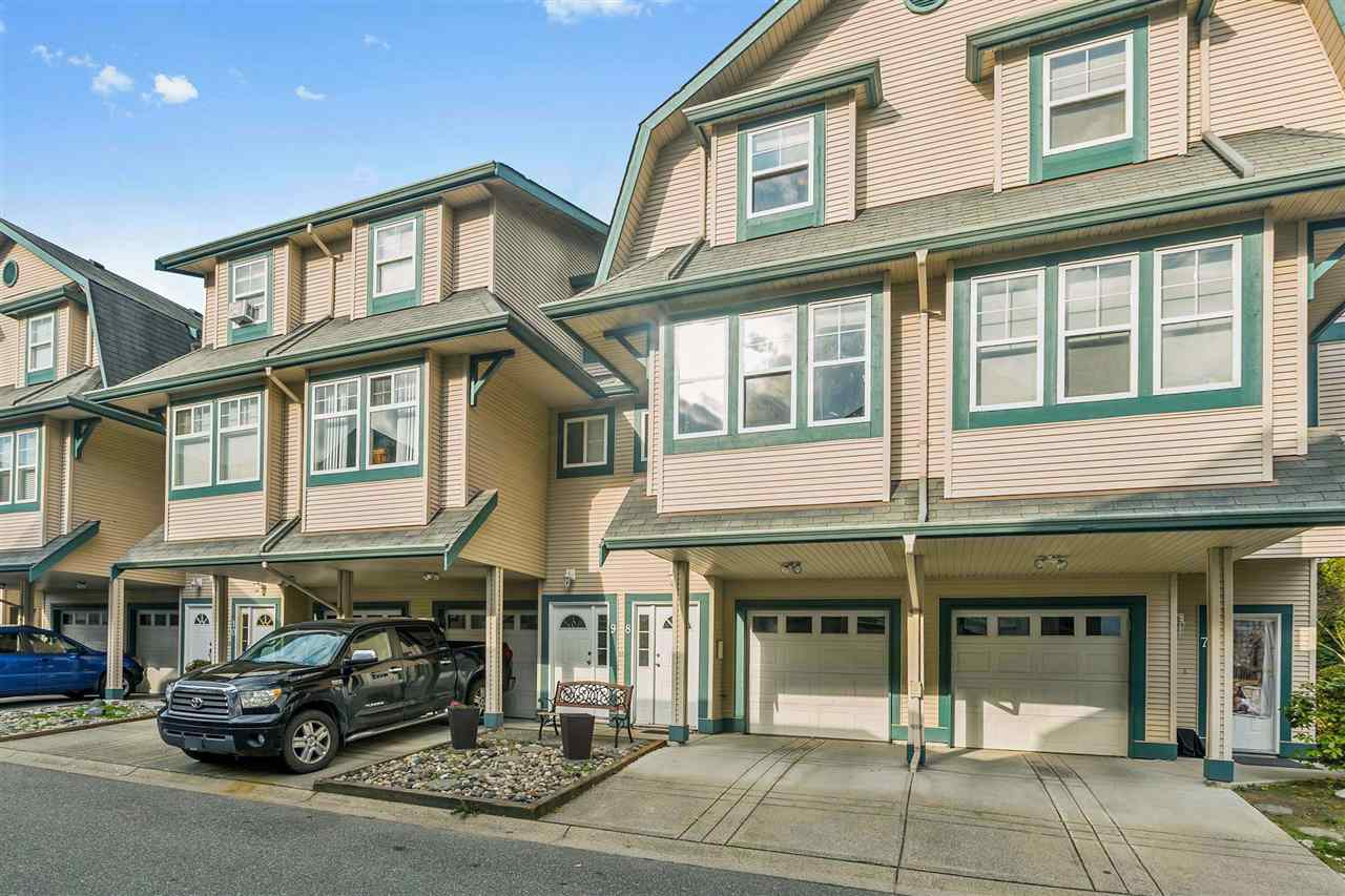 Main Photo: 8 11165 GILKER HILL Road in Maple Ridge: Cottonwood MR Townhouse for sale : MLS®# R2221793