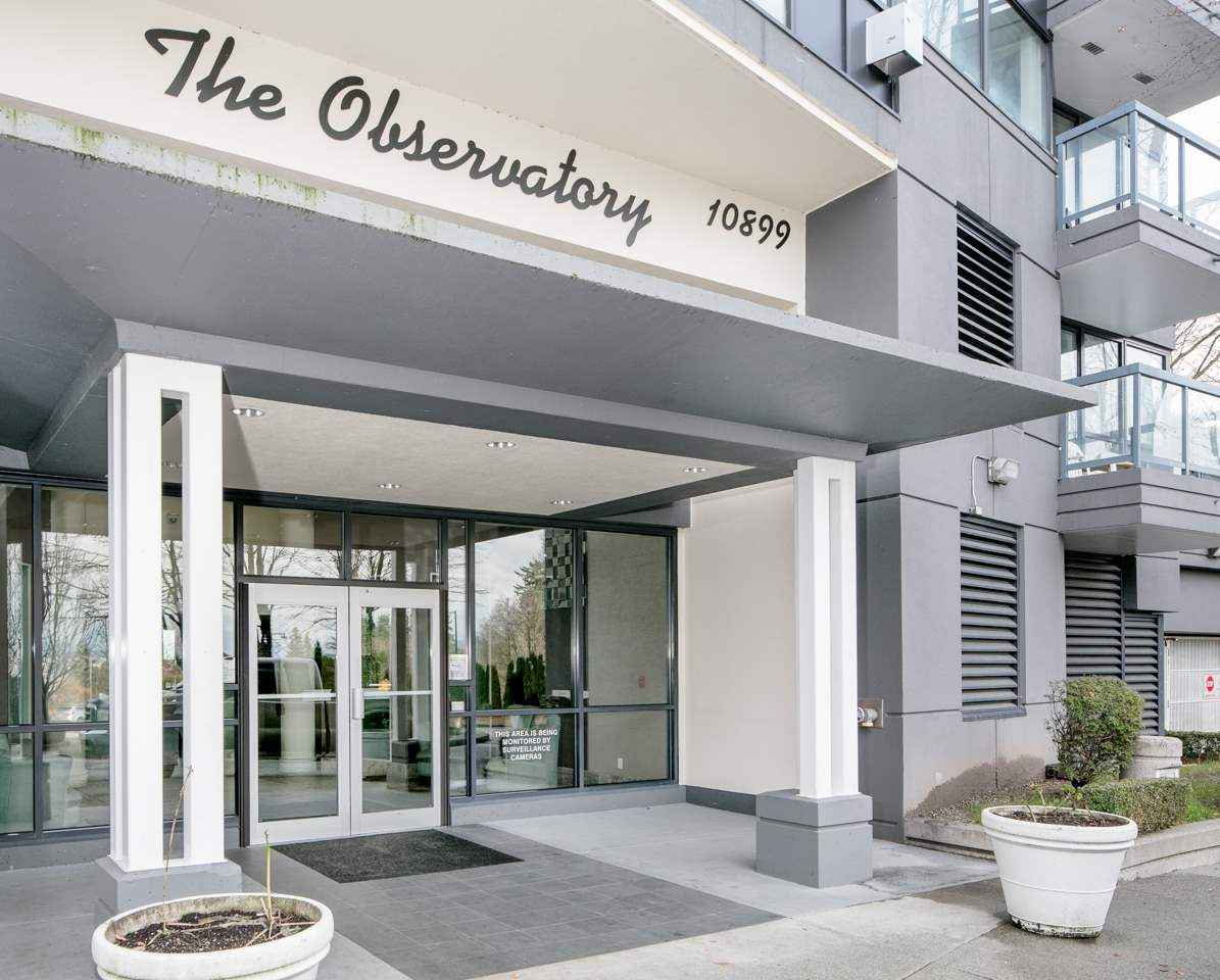"Main Photo: 602 10899 UNIVERSITY Drive in Surrey: Whalley Condo for sale in ""Observatory"" (North Surrey)  : MLS® # R2225136"