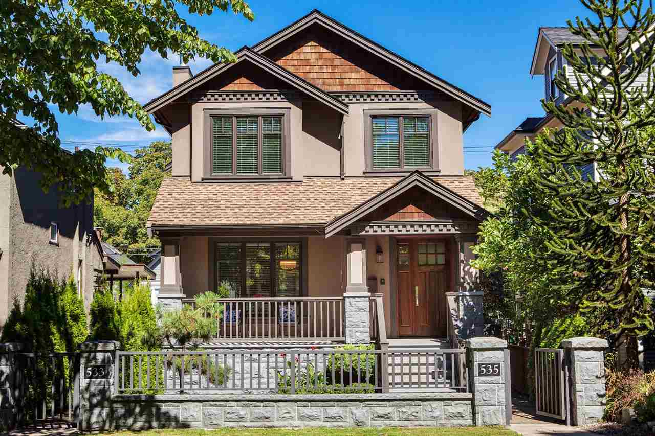 "Main Photo: 535 E 11TH Avenue in Vancouver: Mount Pleasant VE House 1/2 Duplex for sale in ""Mount Pleasant"" (Vancouver East)  : MLS®# R2235957"