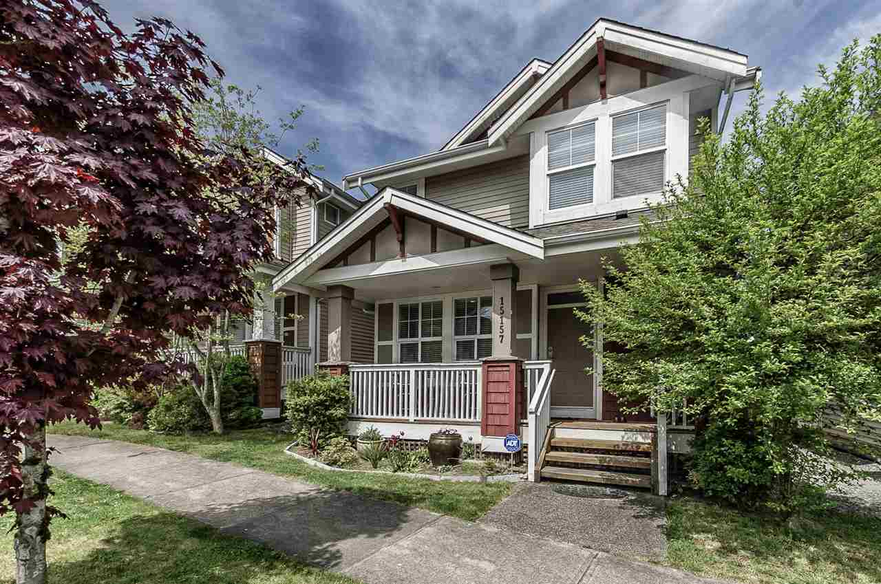 "Main Photo: 15157 61 Avenue in Surrey: Sullivan Station House for sale in ""Olivers lane"" : MLS®# R2264526"