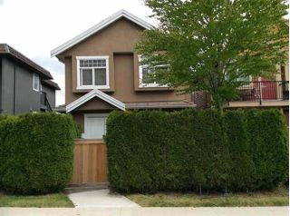Main Photo: 3389 E 4TH Avenue in Vancouver: Renfrew VE House 1/2 Duplex for sale (Vancouver East)  : MLS®# R2283699