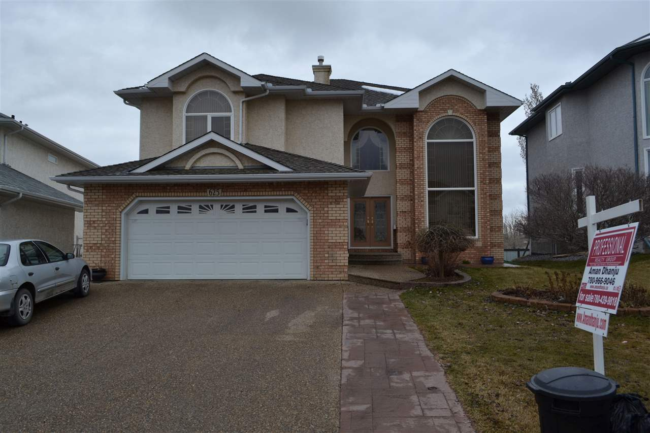 Main Photo: 625 Kulawy Place in Edmonton: Zone 29 House for sale : MLS® # E4061013