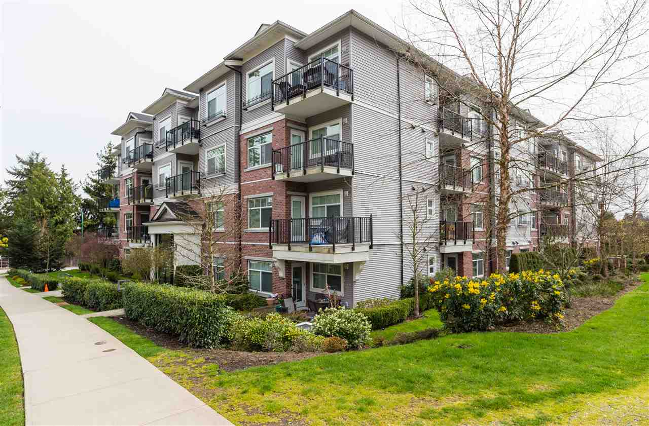 "Main Photo: 210 19530 65 Avenue in Surrey: Clayton Condo for sale in ""Willow Grand"" (Cloverdale)  : MLS®# R2264990"