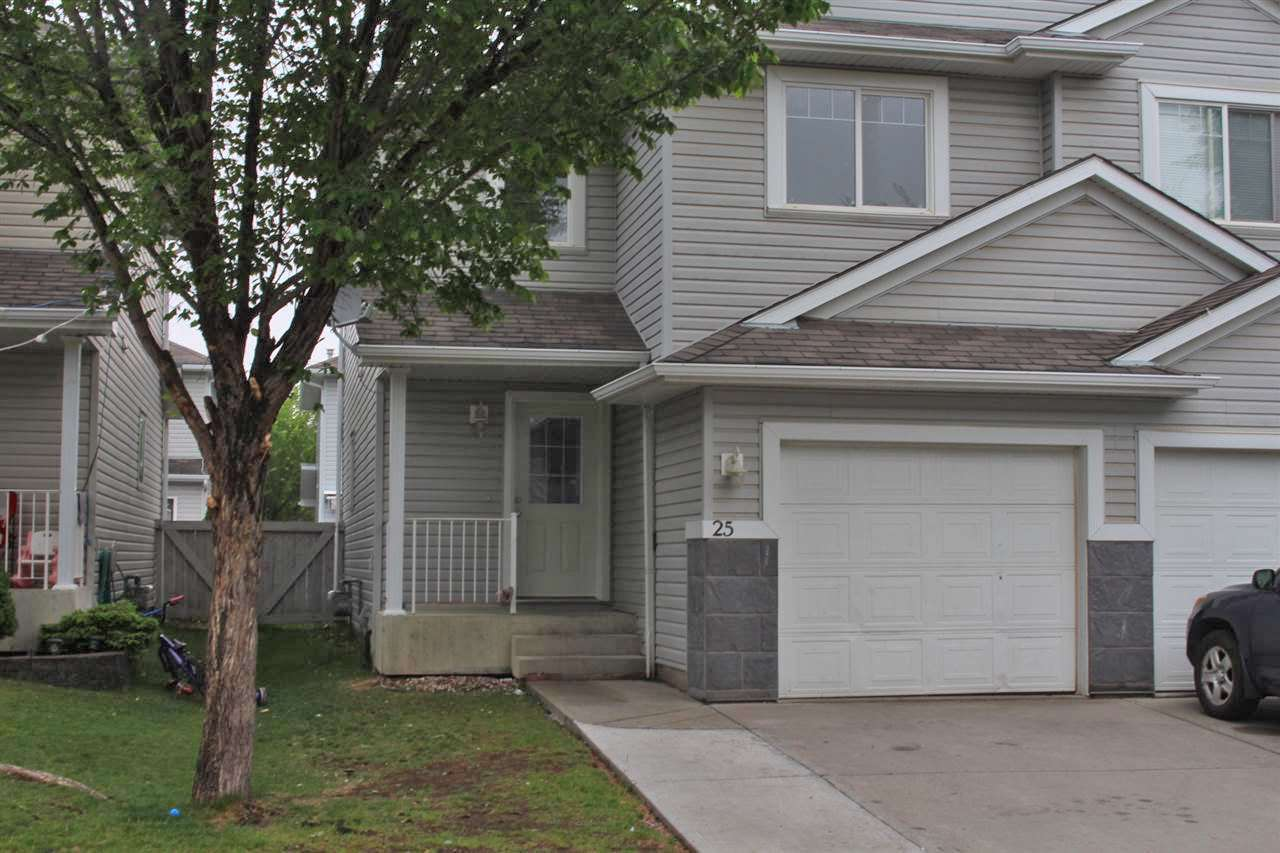 Main Photo: 25 4350 23 Street NW in Edmonton: Zone 30 House Half Duplex for sale : MLS®# E4116821