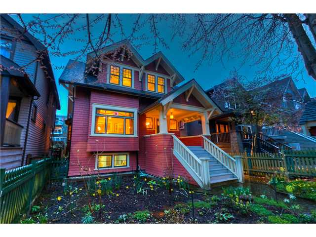 Main Photo: 2864 W 3RD Avenue in Vancouver: Kitsilano House for sale (Vancouver West)  : MLS® # V880454