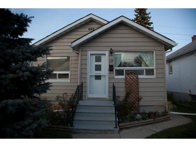 Main Photo: 539 Polson Avenue in WINNIPEG: North End Residential for sale (North West Winnipeg)  : MLS® # 1122442