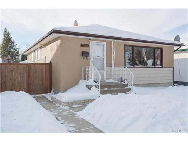 Main Photo: 220 Edward Avenue West in Winnipeg: West Transcona Residential for sale (3L)  : MLS® # 1700851
