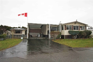 "Main Photo: 154 27111 0 Avenue in Langley: Otter District Manufactured Home for sale in ""PIONEER PARK"" : MLS(r) # R2135449"