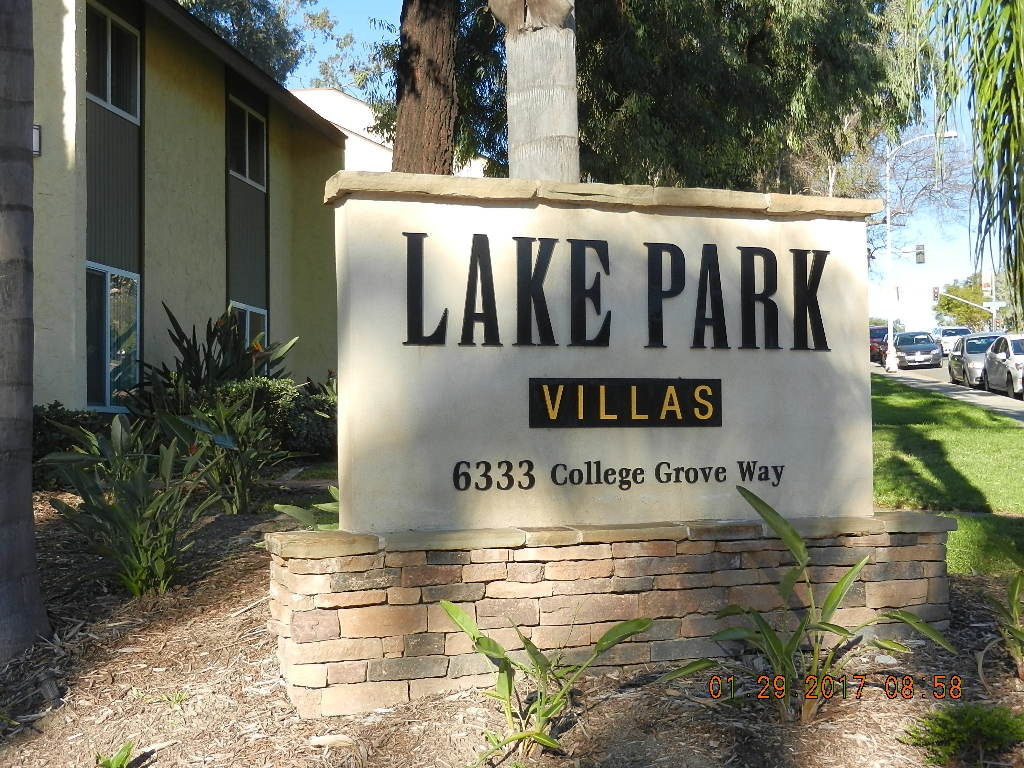 Main Photo: COLLEGE GROVE Condo for sale : 2 bedrooms : 6333 College Grove Way #6102 in San Diego