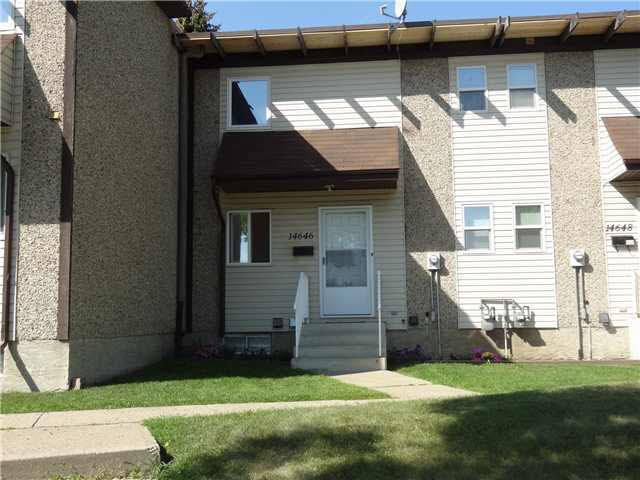 Main Photo: 14646 121 Street in Edmonton: Zone 27 Townhouse for sale : MLS® # E4073331