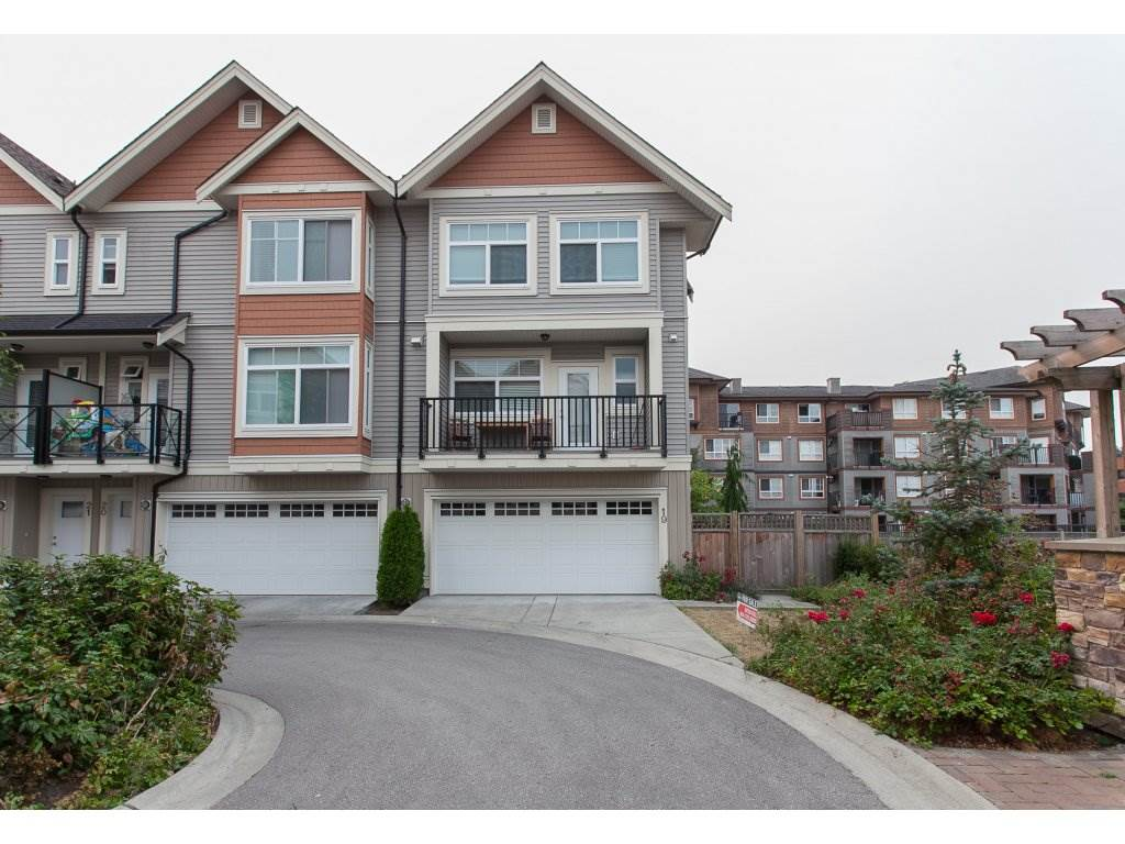 "Main Photo: 19 12092 70 Avenue in Surrey: West Newton Townhouse for sale in ""THE WALKS"" : MLS®# R2202504"