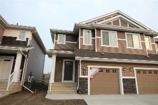 Main Photo: 469 EBBERS Way in Edmonton: Zone 02 House Half Duplex for sale : MLS® # E4081403
