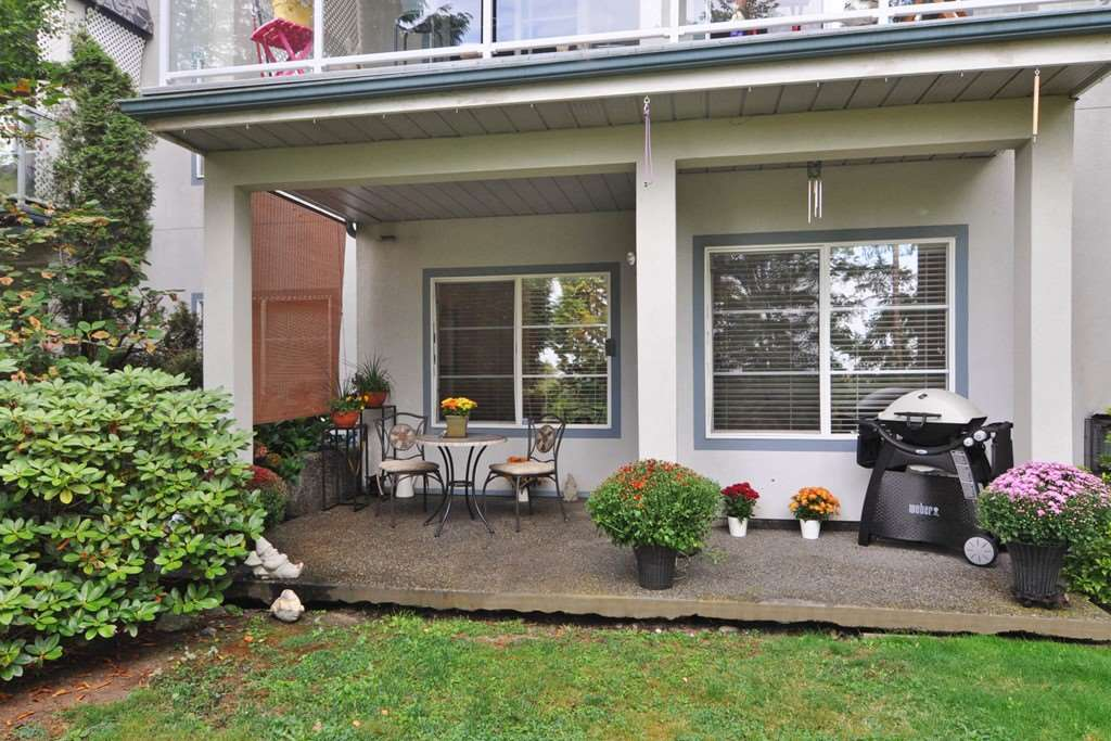"Main Photo: 105 11519 BURNETT Street in Maple Ridge: East Central Condo for sale in ""STANFORD GARDENS"" : MLS®# R2206830"