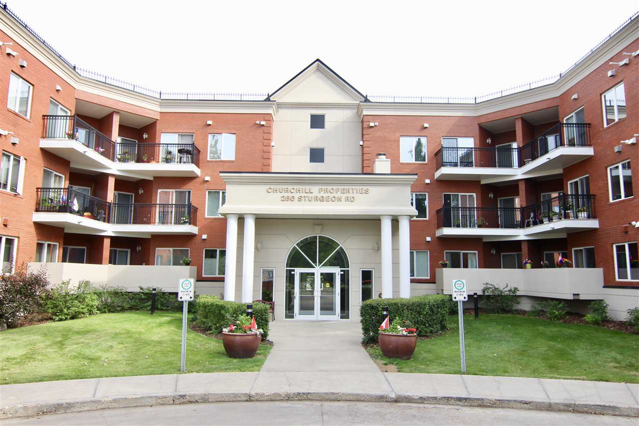 Main Photo: 210 260 STURGEON Road: St. Albert Condo for sale : MLS® # E4082750
