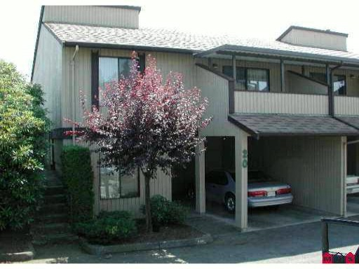 "Main Photo: 20 2962 NELSON Place in Abbotsford: Central Abbotsford Townhouse for sale in ""Willband Creek"" : MLS®# F1120705"
