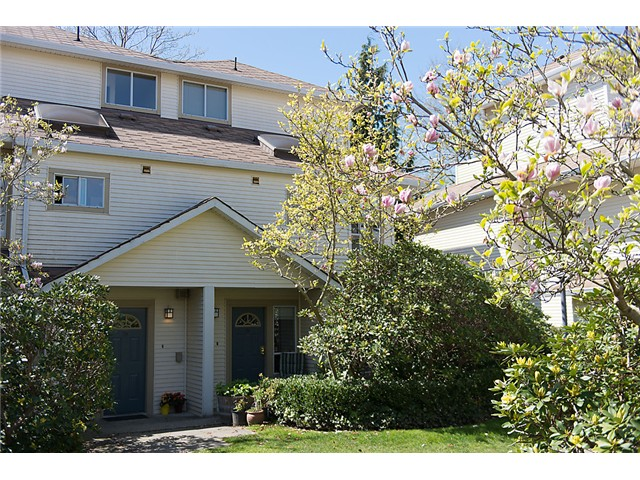 Main Photo: 25 4319 Sophia Street in Vancouver: Main Townhouse for sale (Vancouver East)  : MLS® # V1004878