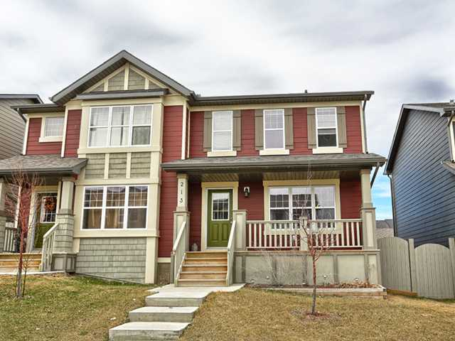 Main Photo: 213 PANAMOUNT Way NW in : Panorama Hills Residential Attached for sale (Calgary)  : MLS(r) # C3613228