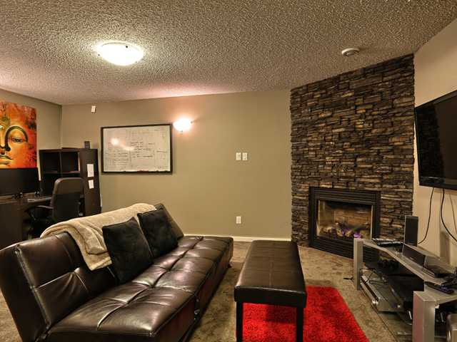 This beautifully developed basement has all your needs catered for.  A stunning fireplace, plenty of room for your entertaining
