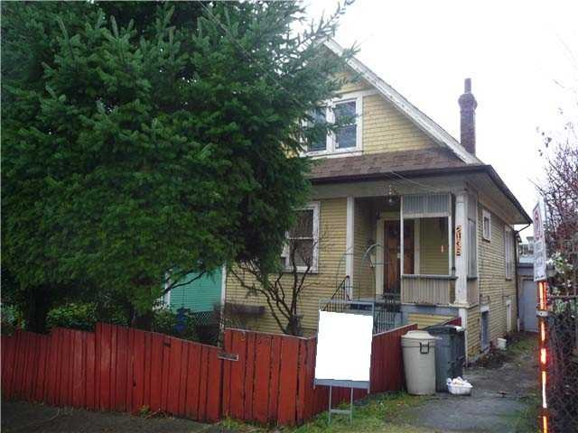 Main Photo: 2136 PRINCE EDWARD Street in Vancouver: Mount Pleasant VE House for sale (Vancouver East)  : MLS® # V1111277