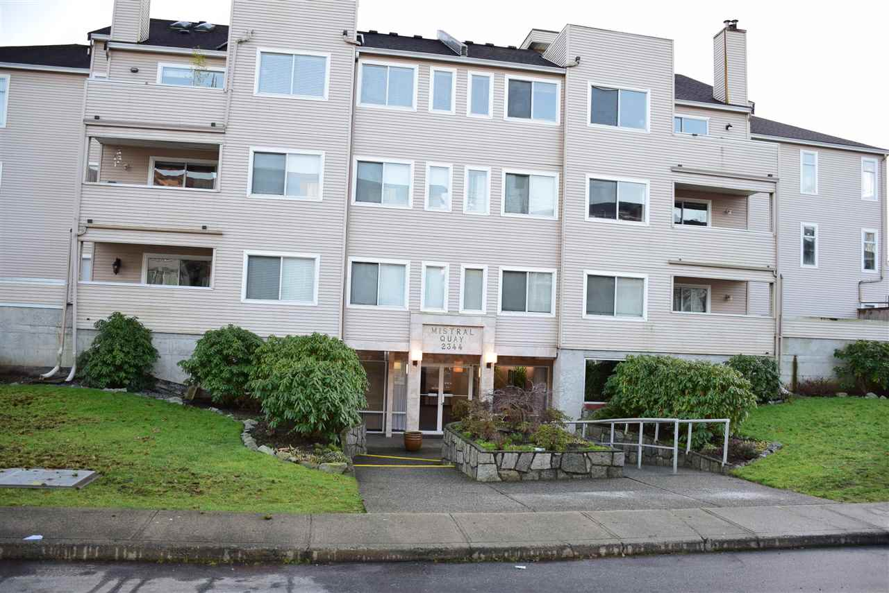 "Main Photo: 104 2344 ATKINS Avenue in Port Coquitlam: Central Pt Coquitlam Condo for sale in ""MISTRAL QUAY"" : MLS® # R2025531"