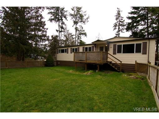 Main Photo: 27A 920 Whittaker Road in MALAHAT: ML Malahat Proper Manu Double-Wide for sale (Malahat & Area)  : MLS(r) # 362647