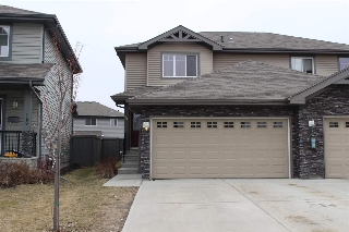 Main Photo: 158 CRANSTON Place: Fort Saskatchewan House Half Duplex for sale : MLS(r) # E4060456