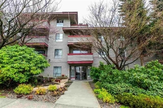 "Main Photo: 203 109 TENTH Street in New Westminster: Uptown NW Condo for sale in ""LANDGRO MANOR"" : MLS(r) # R2181370"