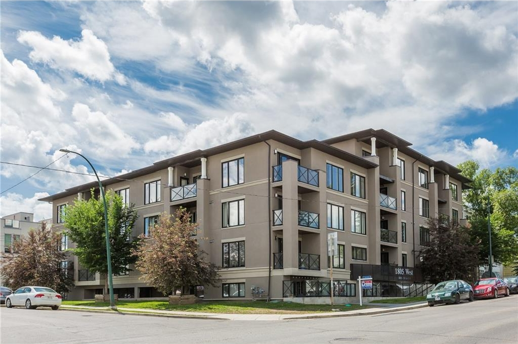 Main Photo: 205 1805 26 Avenue SW in Calgary: South Calgary Condo for sale : MLS® # C4125969